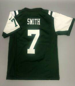 NEW YORK JETS NFL GENO SMITH FOOTBALL SHIRT JERSEY BOYS NIKE SIZE M