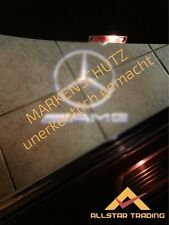 *DE* 2x LED LOGO AMG Mercedes Einstiegsleuchten - W203 C SLK W172 171 CLK C209
