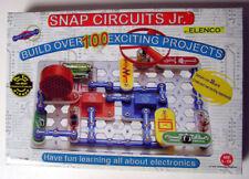 SNAP CIRCUITS JR ELENCO SC-100 EDUCATIONAL SCIENCE LECTRONICS KIT 100% COMPLETE