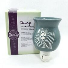 SCENTSY WARMER * Plumage * PLUG IN RETIRED NEW IN BOX