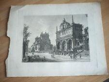 GRAVURE 1900 ROME ITALIE