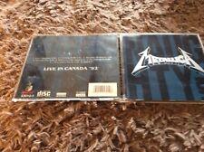 Metallica live CD: Naughty Vol 1 Live In Canada 1992