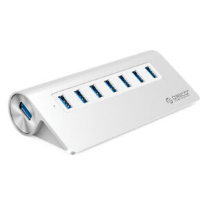 ORICO M3H7 Aluminum 7 Port USB3.0 Hub for Smartphones Laptops PC Apple Devices