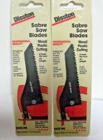 2 Disston Saber Jig Saw Blade 5422 M Wood Cutting 8 TPI NOS Switzerland Swiss