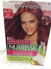 Garnier Nutrisse Nourishing Color Foam #6Ur Light Ultra Intense Red Hair Color