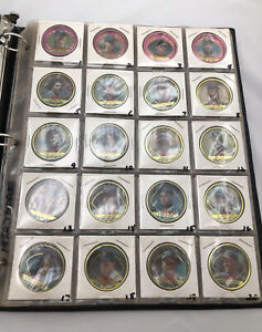 1990 Topps Baseball Coins Full Complete Set 60 Mint Sleeved Protective Case MLB