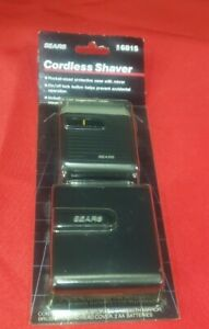 new vintage sears pocket sized cordless electric shaver 6815 Japan travel