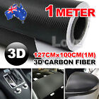 OZ 3D Film Carbon Fiber Vinyl Wrap Sheet Roll Car Sticker Phone Laptop DIY