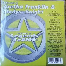 LEGENDS KARAOKE CDG ARETHA FRANKLIN & GLADYS KNIGHT SOUL, R&B #13 15 SONGS