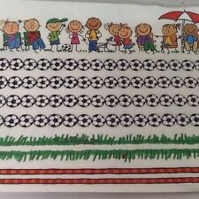 """Multicultural SOCCER KIDS BORDER 12"""" STICKERS SCRAPBOOKING ME & MY BIG IDEAS"""
