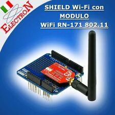 WiFi SHIELD PER ARDUINO con MODULO WiFi RN-171 802.11 + ANTENNA Xbee compatibile