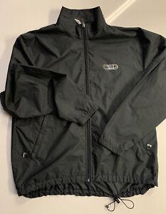 SUGOI Men's Black Full Zip Running Jacket Cycling Jacket Size Medium