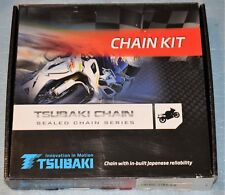 kit chaîne TSUBAKI MX ALPHA XRS 14x50 YAMAHA WR 400 F WR 426 F WR 450 F neuf