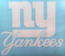 NY Yankees / Giants Decal #1