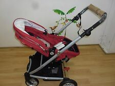 New  Valco Spark Lightweight Jogger Pram Compact Buggy Strawberry Waffle