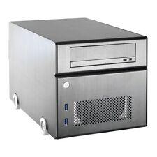 Boîtiers d'ordinateurs noirs pour Mini-ITX avec bloc d'alimentation