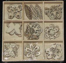 Kaisercraft Ldb1053 Lucky DIP Wooden Shapes 4 Butterfly 1.25 In.