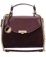 Versace Collection Bordeaux Light Gold Shoulder Bag - LBF0302-LCV1-L12OC