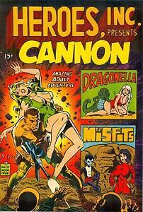 Heroes, Inc. Presents Cannon #1 - 1969 Wally Wood & Steve Ditko art! Vietnam era