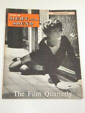 """Sight and Sound Magazine:Lee Remick """"Sanctuary"""" Albert Finney- Spring 1961"""