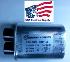 Microwave Oven H.V. High Voltage Capacitor Model: CH85-21090 2100VAC 0,90uF