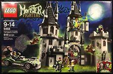 Lot of 3 Lego Monster Fighter Sets- Vampyre Castle,Ghost Train & Crazy Scientist
