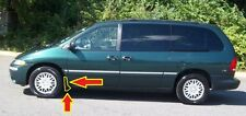 0PE33SG8 0PE33TZZ Front Left Mudflap Cladding Chrysler TOWN AND COUNTRY Green