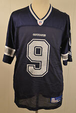 Reebok Dallas Cowboys Jersey  9 Tony Romo Men s Size Large Blue NFL Football 50e2e664f