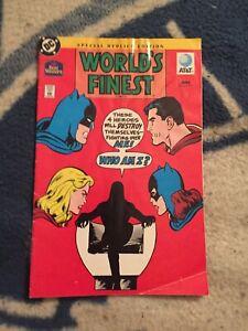 WORLD'S FINEST COMICS #176 BEST WESTERN GIVEAWAY REPRINT HTF