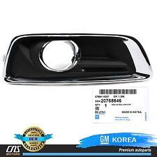 GENUINE Fog Light Cover Bezel FRONT RIGHT 13-15 Chevrolet Malibu OEM 20768846