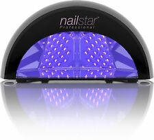 Nailstar Professional LED Nail Lamp Dryer for Shellac and Gel Polish with 30, 60, 90 Sec and 30 Min Timers