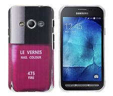 Case f Samsung Galaxy Xcover3 Schutzhülle Tasche Cover Etui Nagellack Flasche