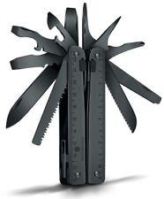 Victorinox Swiss Army SwissTool Spirit X Black 115 mm Nylon Pouch 3.0323.3CNUS2
