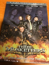 THE THREE MUSKETEERS  - 2 DVD SET SPECIAL EDITION - SEALED  + SLIPCASE
