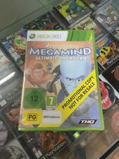 Megamind Ultimate showdown xbox 360 new promotional copy
