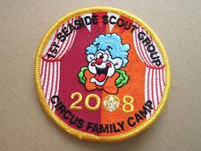 1st Seaside Scout Circus Family Camp Cloth Patch Badge Boy Scouts Scouting L3K B