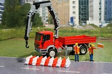 Siku 3534 - Mercedes Atego with Crane Diecast Metal Construction - Scale 1:50