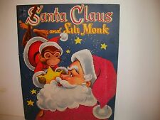 1955 SANTA AND LILI FELT CHRISTMAS BOOK