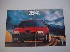 advertising Pubblicità 1988 ALFA ROMEO 164