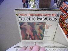 Physical Fitness Aerobic Exercises Set To DISCO Music vinyl LP 1981 AA VG+