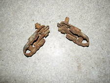 1983 Honda  XR200R Foot Pegs