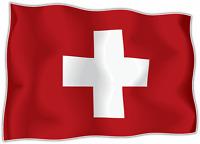 10x Autocollant Sticker drapeau SUISSE switzerland flag vinyle pour voiture moto