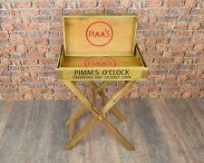 Set of 3 Large Pimms Trays with Stand