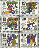 DDR 1450-1455 (kompl.Ausgabe) gestempelt 1969 Märchen