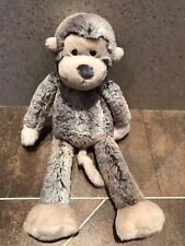 JELLY CAT JELLYCAT PUDDLE MONKEY BROWN CHIMP APE COMFORTER SOFT TOY JELLY1754