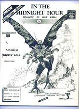 IN THE MIDNIGHT HOUR #3 - 1989 fanzine, Thriller, Richard Matheson, Robert Bloch