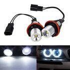 2xFor BMW E61 E63 E65 E87 X5 Series Angel Eye Halo Ring Luz Blanca Led Bombillas