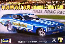 Revell Monogram 01:16 Dodge Hawaiian Funny Car Model Kit de chargeur Roland Leong
