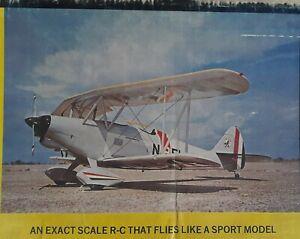 SIG LIBERTY SPORT biplane wood rc model airplane KIT