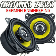 Ground Zero GZTF- 10 cm Koax Lautsprecher Paar inkl. Gitter 3 Ohm 70 Watt Rms